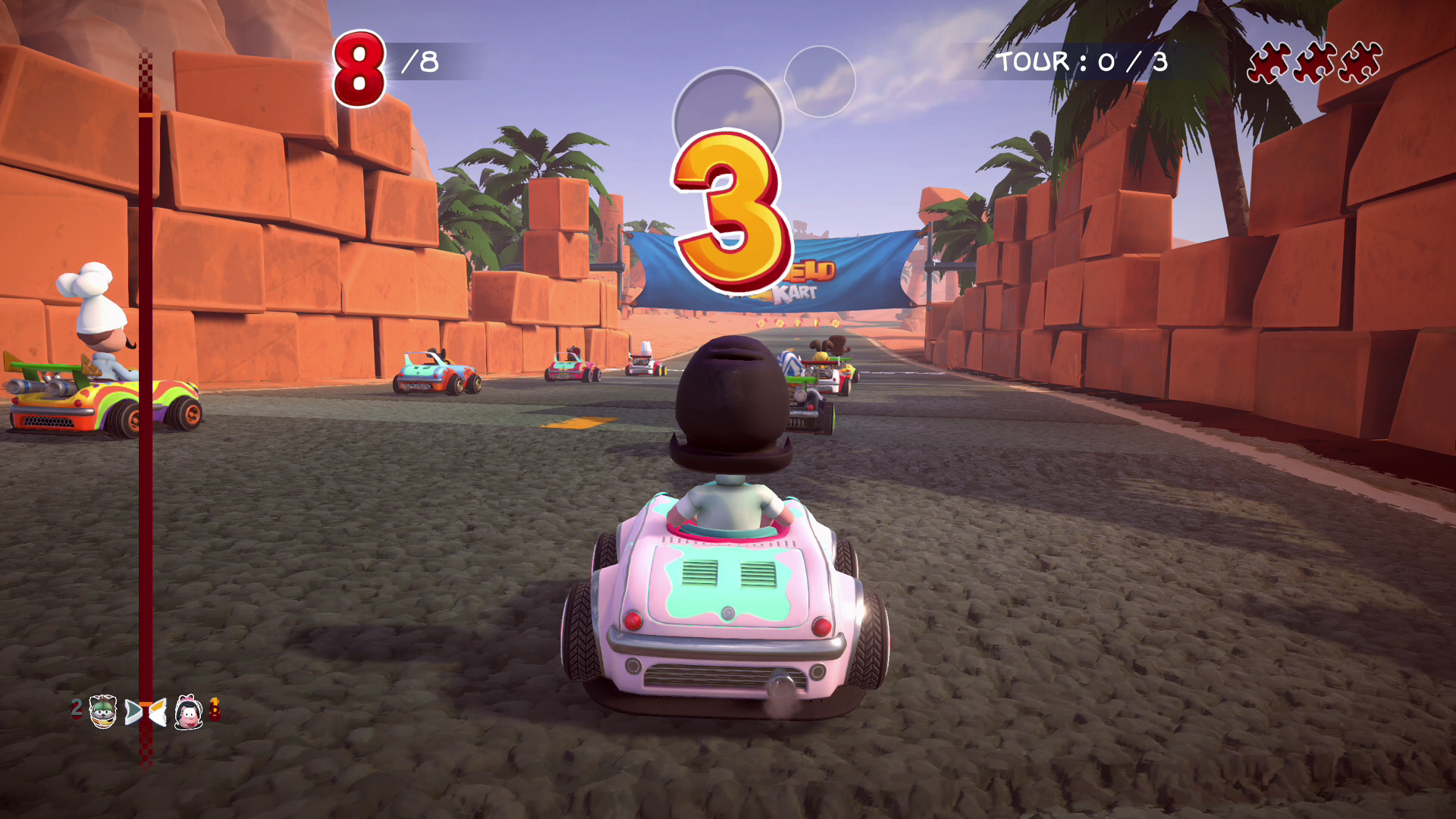 All Games Delta Garfield Kart Furious Racing Announced For Ps4 Xbox One Switch And Pc
